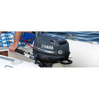 Лодочный мотор Yamaha, 6 лс, 4 тактный, F6 CMHS - подвесной мотор для яхт и рыбацких лодок, фото 7