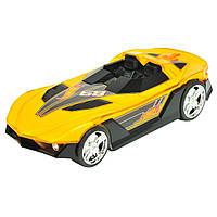 Машина Hot Wheels - Hyper Racer (свет, звук, движение, меняет цвет)