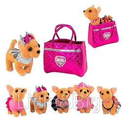 Мягкая игрушка - собачка в сумочке арт. 43977