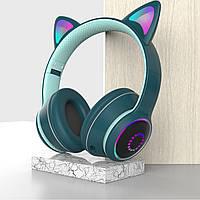 """Беспроводные Bluetooth наушники """"Кошачьи ушки"""" с LED подсветкой CAT ear Headset AKZ-K26"""