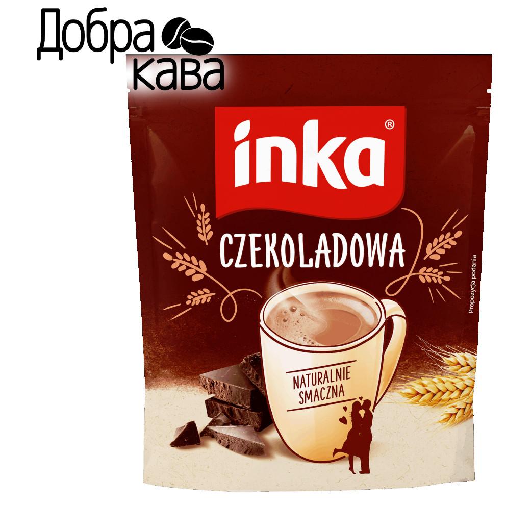 Inka Шоколадная 200г ячменный кофейный напиток растворимый без кофеина