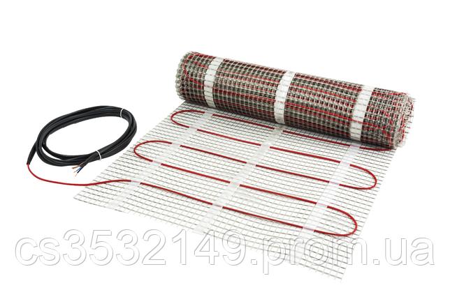 Теплый пол электрический DEVImat 150T нагревательный мат 206 / 225W 1,5 м² (140F0446), фото 2