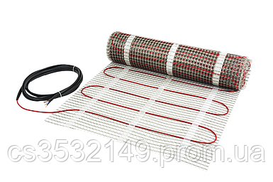 Теплый пол электрический DEVImat 150T нагревательный мат 206 / 225W 1,5 м² (140F0446)