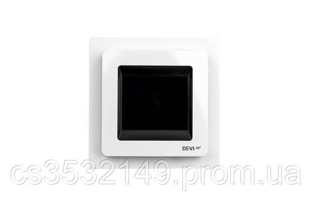 Терморегулятор програмований сенсорний DEVIreg Touch (140F1064) Білий, фото 2