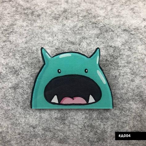 Значок пластиковый Пин Pin City-A Динозавр №1027, фото 2