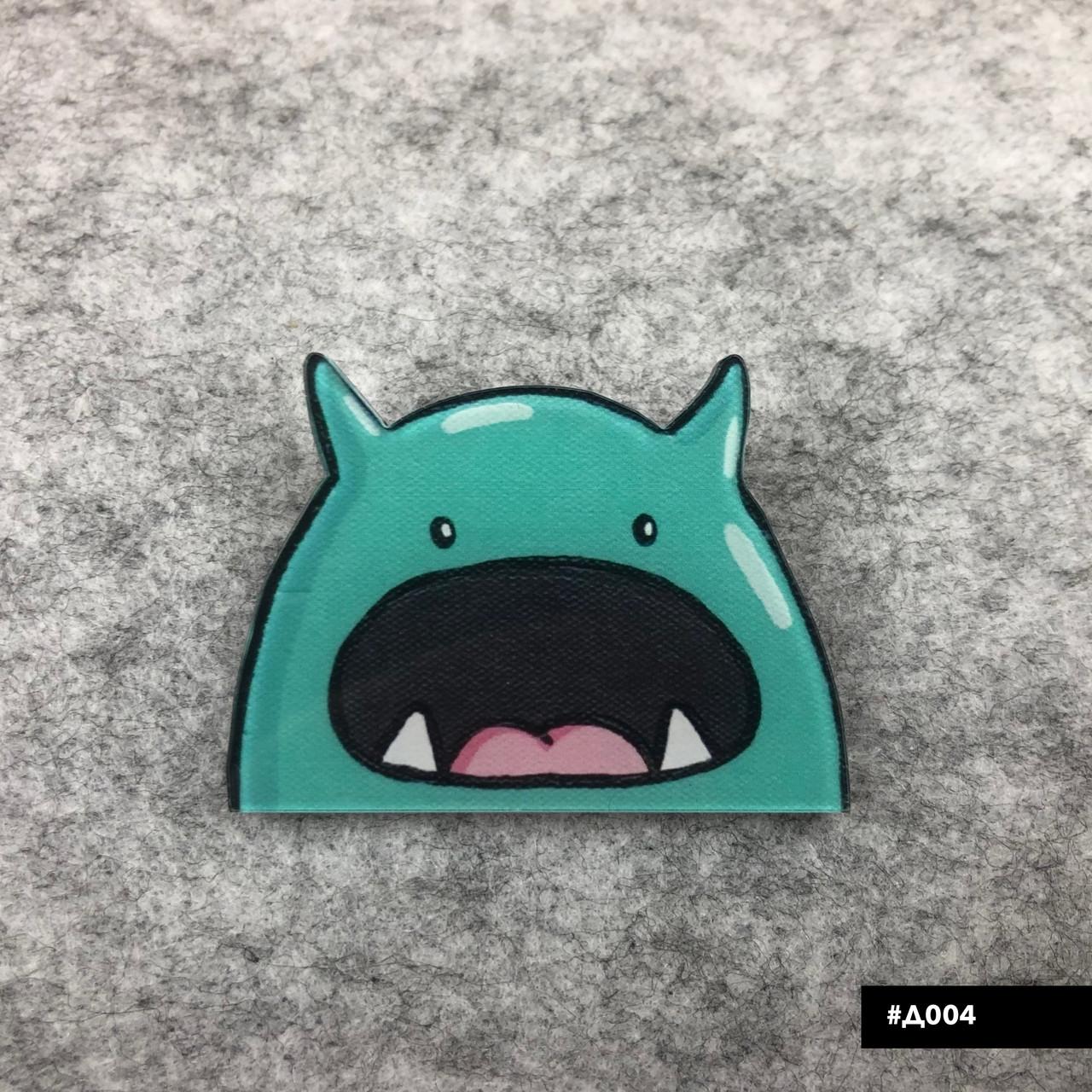 Значок пластиковый Пин Pin City-A Динозавр №1027