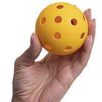 Мяч для флорбола CLASSIC PK-3384 (пластик, d-27мм, вес 23г, цвета в ассортименте)