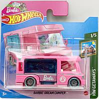 Базовая металлическая машинка Хот Вилс Hot Wheels Barbie Dream Camper Уценка