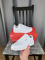 Кроссовки Puma Cali белые женские на весну. Кросы Пума Кали Болд в бело цвете. Обувь Puma Cali Bold White