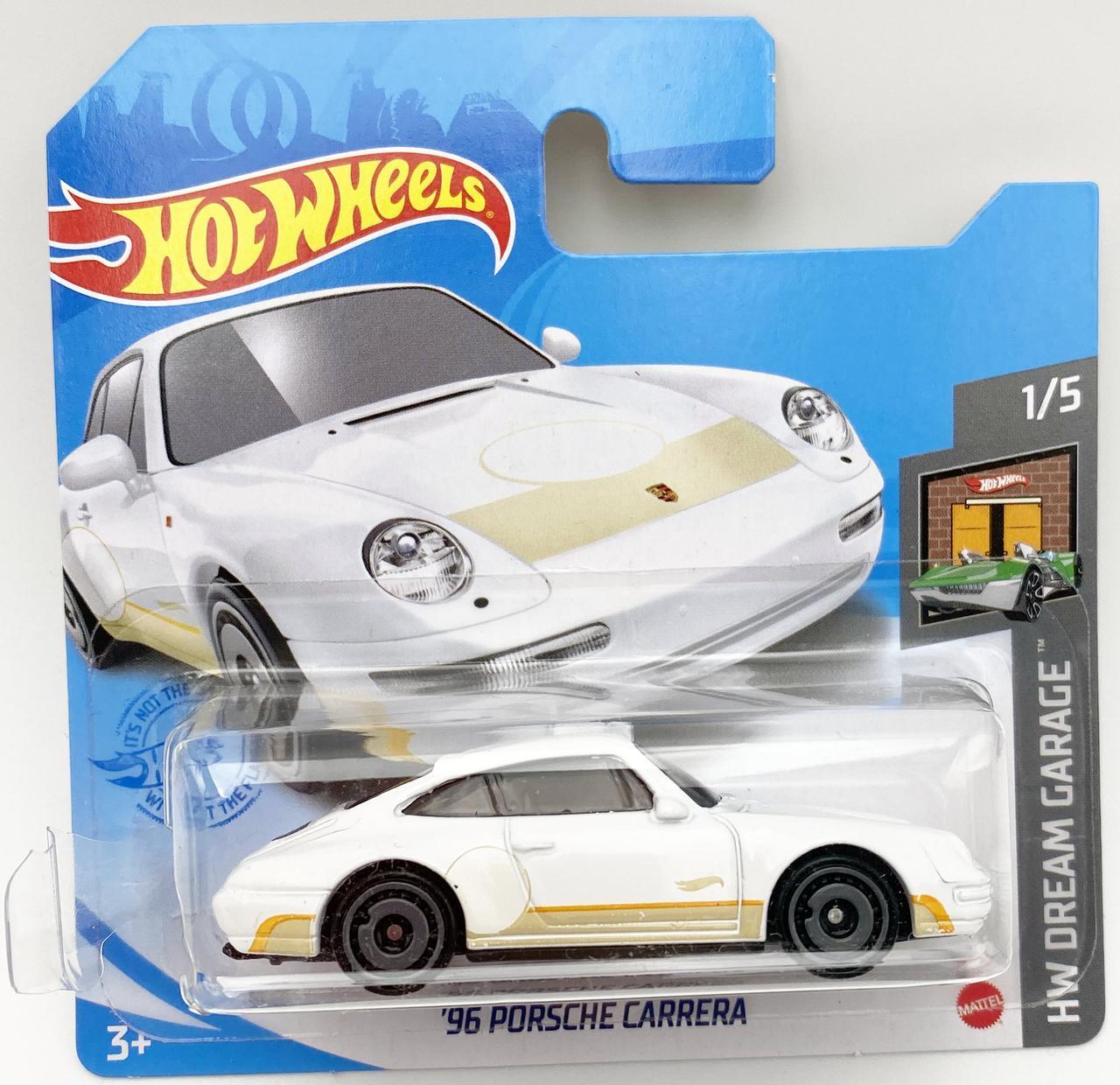 Базова машинка Хот Вілс Hot Wheels '96 Porsche Carrera car Уцінка
