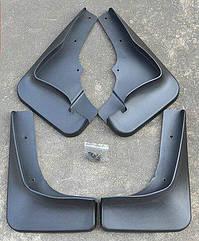 Брызговики на Mitsubishi Outlander/Митсубиши Аутлендер 2010-2012 AVTM Шырокий порог полный комплект