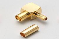 MCX-розетка на кабель (X-008-174 TGG) (MCX-C174JR) (ВЧ-разъем)