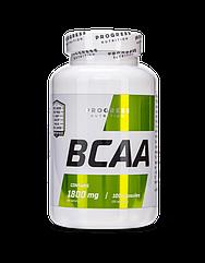 БЦАА Progress Nutrition BCAA 1800 100 капсул