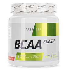 БЦАА Progress Nutrition BCAA Flash 500 грамм Персиковый чай со льдом