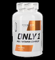 Комплекс витаминов и минералов Progress Nutrition Only 1 90 таблеток
