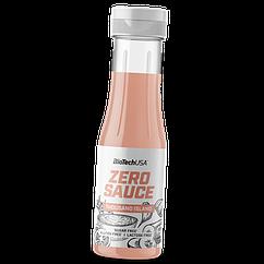 Низкокалорийный соус  BioTech Zero Sauce 350 мл Тысяча островов