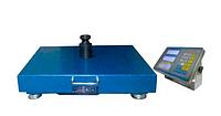 Торговые весы напольные аккумуляторные электронные со стойкой для торговли Reinberg RB-100 100 кг