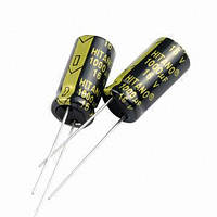 2200uF 6,3V EXR 10x21mm (low imp.) (EXR222M0JB-Hitano) (электролитический конденсатор низкоимпедансный)