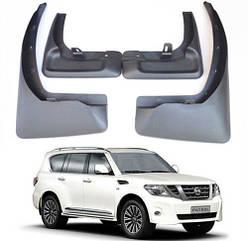 Брызговики на Nissan /Ниссан патрол  2011-2019 AVTM полный комплект
