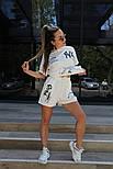 Жіночий костюм двійка річний яскравий з шортами, фото 8