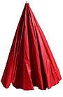 Зонт пляжний з клапаном і срібним напиленням, діаметр 3м., 16 спиць, Червоний, фото 7