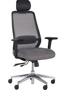 Кресло Hack, Alum, Black/Grey TM AMF