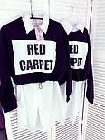 Жіноча сукня-сорочка модна з кофтою двухнить, фото 4