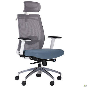 Кресло Install White, Alum, Grey/Skyline TM AMF