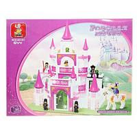 """Конструктор детский, конструктор для девочки M38-B0151 """"Замок для принцессы"""" 508 деталей"""