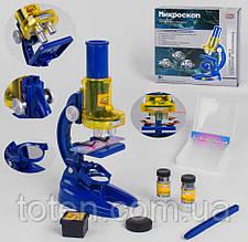 """Микроскоп детский 9865 """"Play Smart"""" 3 линзы, стикеры, пинцет, колбы и тд."""