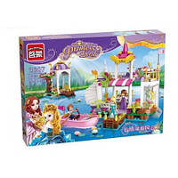 """Конструктор для девочки """"Brick 2607 Princess Leah """"Причал принцессы"""", 358 деталей 11/11.5"""