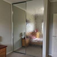 Декоративная виниловая пленка на окно зеркало Цветы вишни матирующая ПВХ наклейка для стекла