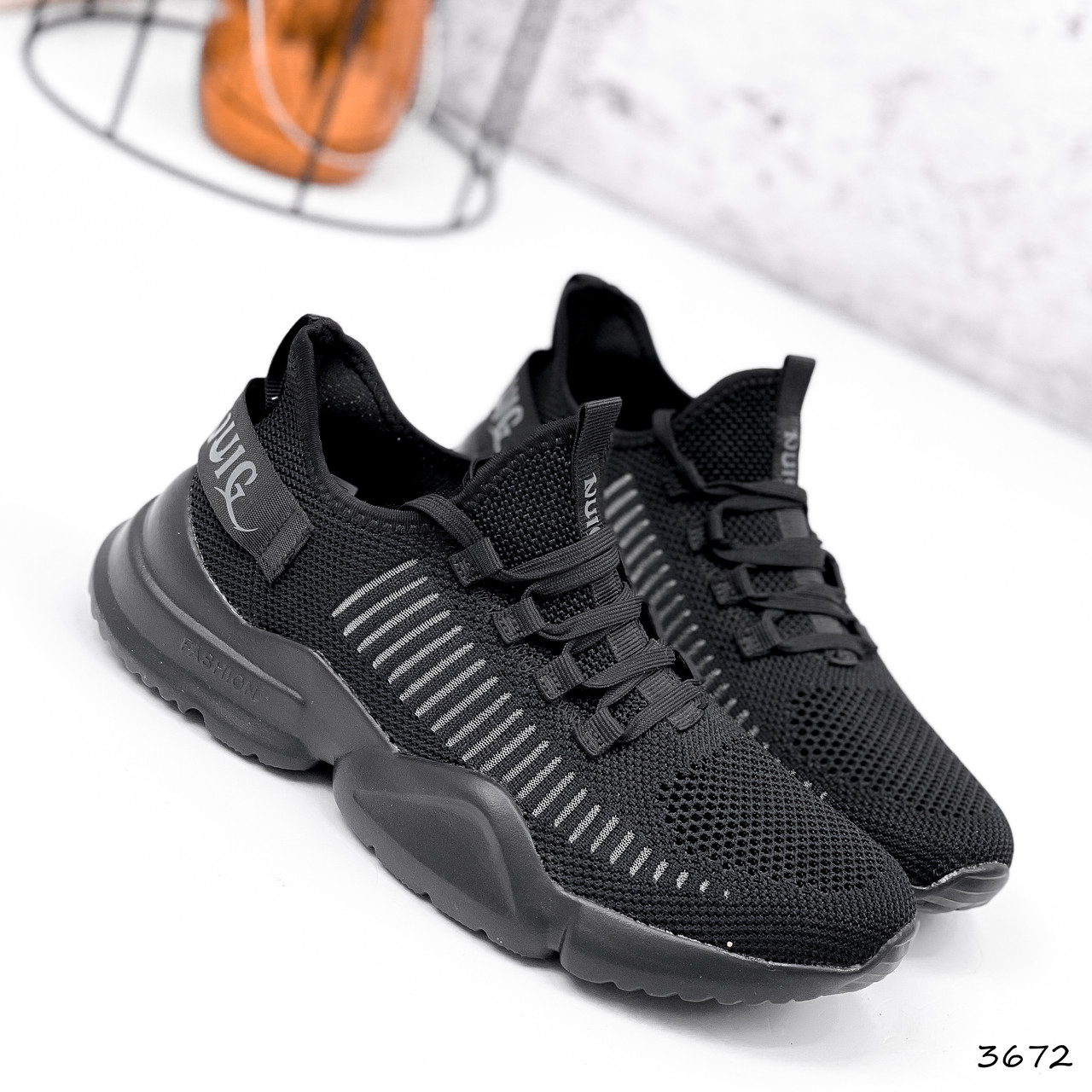 Кросівки чоловічі Nicola чорні 3672