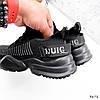 Кросівки чоловічі Nicola чорні 3672, фото 2