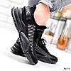 Кросівки чоловічі Nicola чорні 3672, фото 8