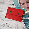 Жіночий шкіряний міні гаманець Stedley, фото 8