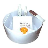 Педикюрный набор с ванночкой и Крем для ног Tanoya