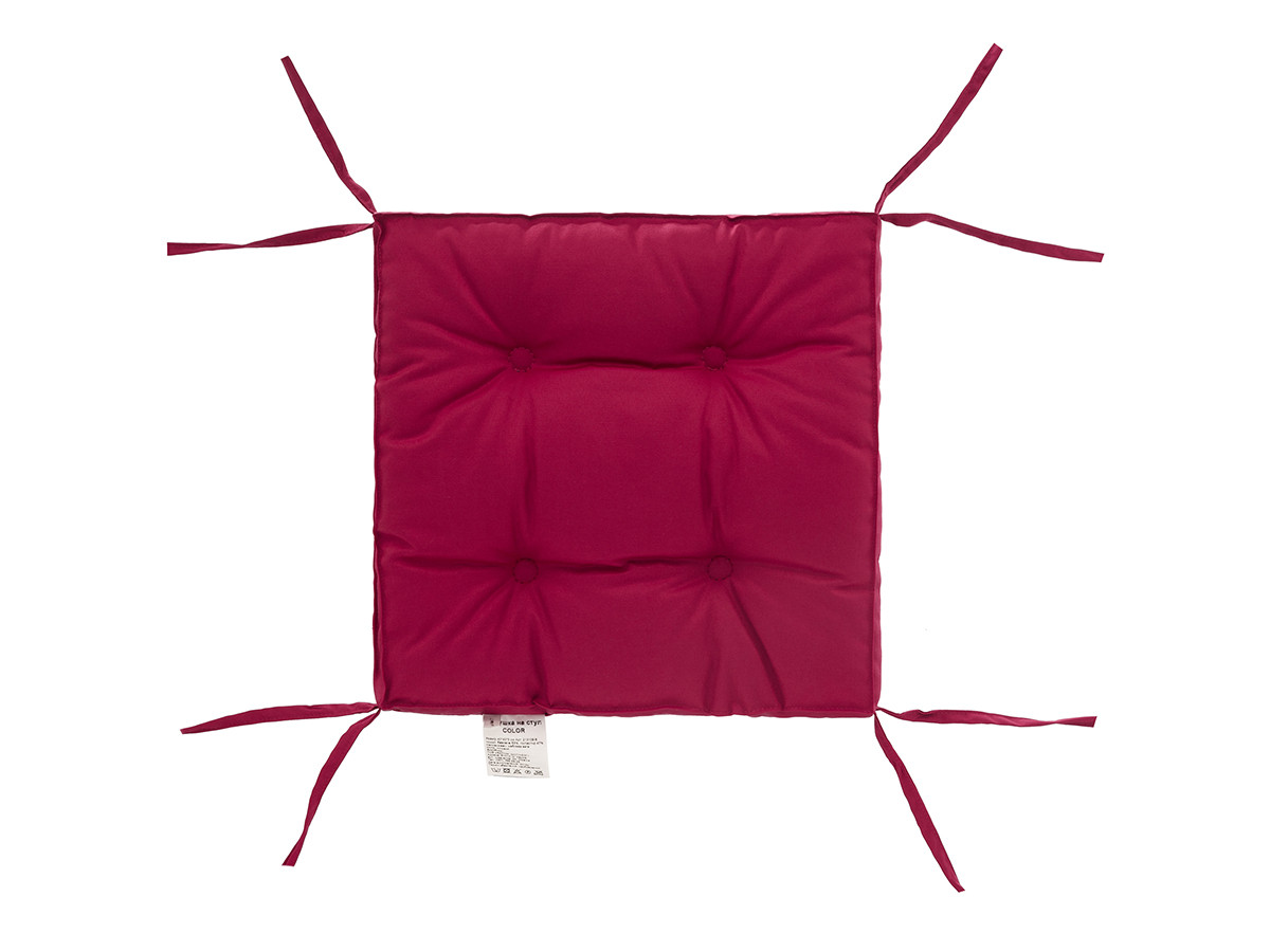 Подушка на стілець DOTINEM COLOR лілова 40х40 см (213109-8)