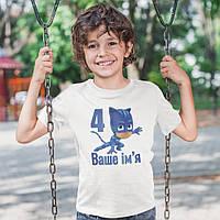 Футболка детская PJ Masks День Рождения 4 года