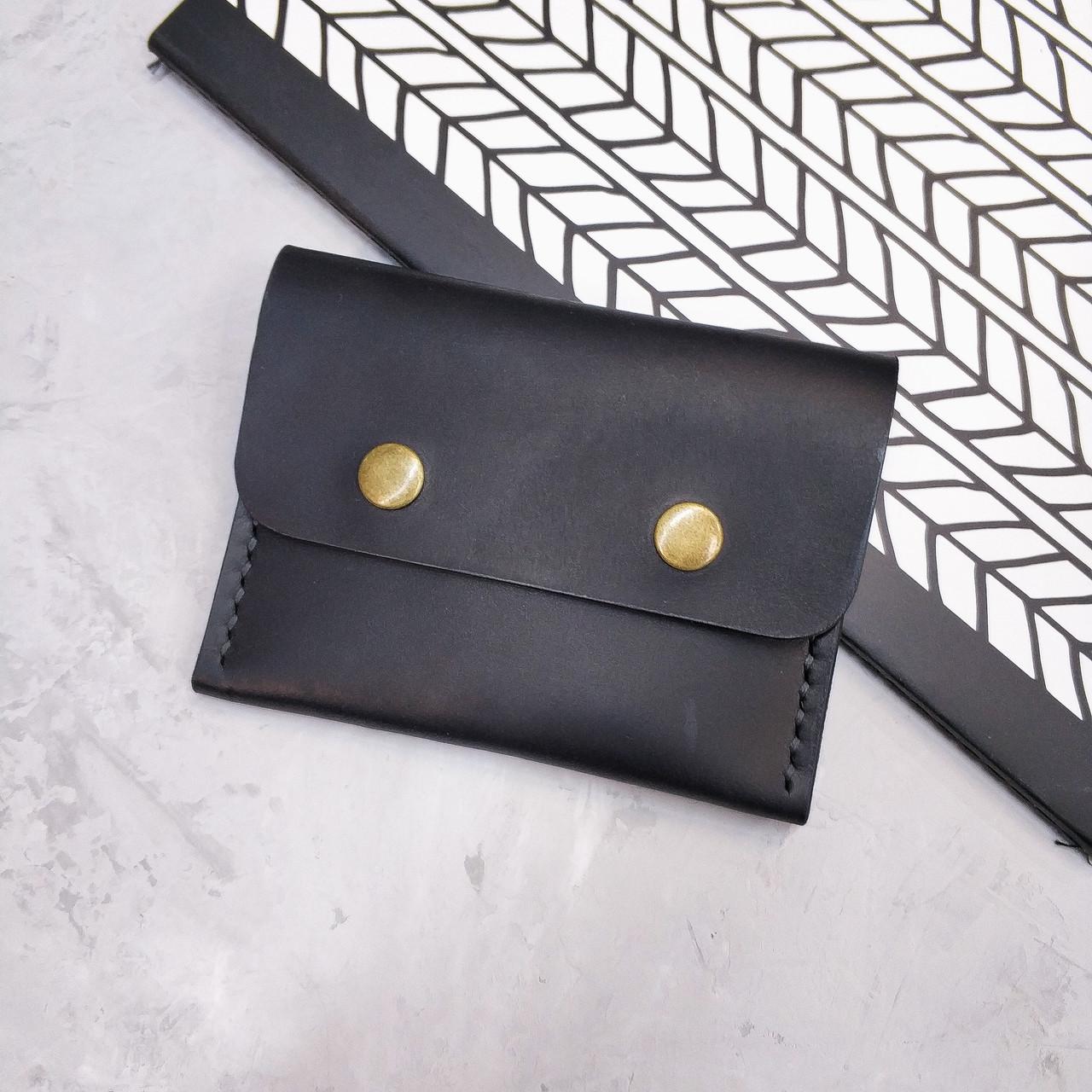 Шкіряний міні гаманець Stedley