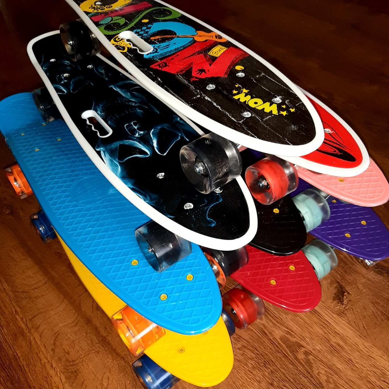 Дитячий пенні борд / Penny Board / дитячий скейт для дитини