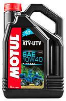 Масло для квадроцикла MOTUL ATV-UTV EXPERT 4T 10W40 (4L)