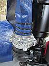 Фекальный насос AkWa PUMPS WQD 1,1 кВт чугунный корпус с измельчителем + шланг, гайки, трос силикон, перч., фото 2