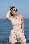 Жіночий костюм двійка річний модний з шортами, фото 3
