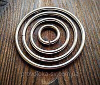 Бижутерные колечки 0,8 х 12 мм