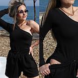 Жіночий костюм двійка річний модний з шортами, фото 6
