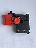 Кнопка для сетевых шуруповертов с фиксатором ZLB KR9, фото 1
