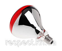 Лампа інфрачервона Tehno MS R125 колір скла червоний 250 Вт