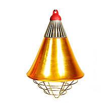Рефлектор для інфрачервоної лампи (абажур) Tehno MS S1021 бронзовий колір