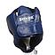 Дитячий шолом боксерський кожвініл L, синій BOXER, фото 5